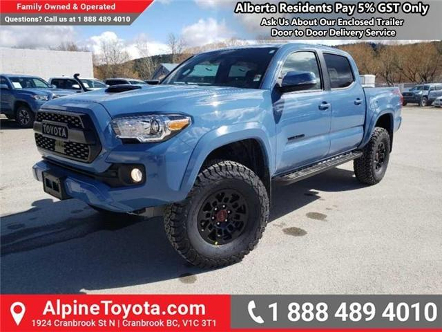 2019 Toyota Tacoma TRD Sport (Stk: X180218) in Cranbrook - Image 1 of 20