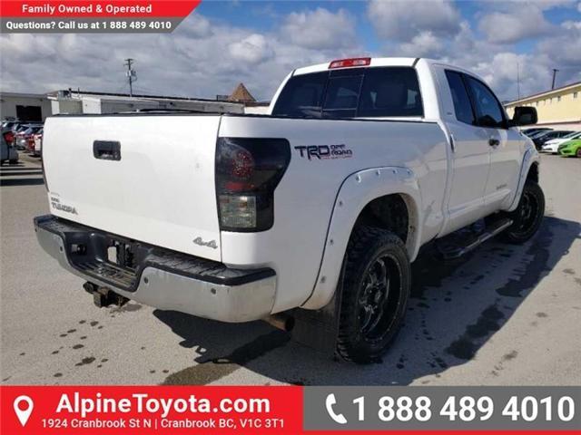 2012 Toyota Tundra SR5 4.6L V8 (Stk: X035732) in Cranbrook - Image 6 of 20