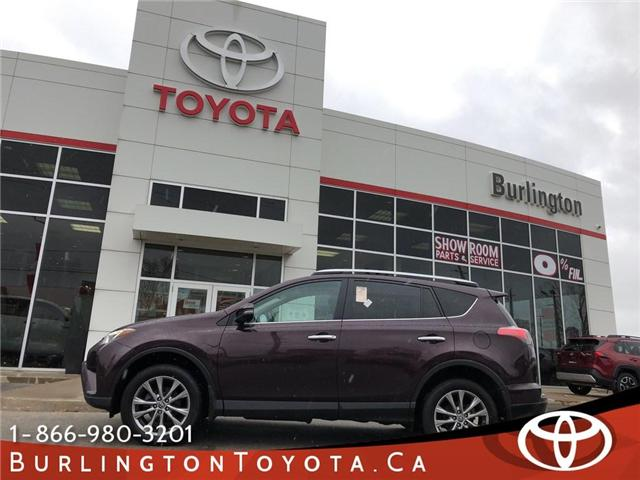 2016 Toyota RAV4 Limited (Stk: U10637) in Burlington - Image 1 of 20