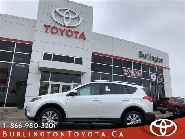 2015 Toyota RAV4 Limited (Stk: U10638) in Burlington - Image 1 of 20