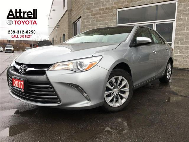 2017 Toyota Camry LE KEYLESS, BACKUP CAMERA, BLUETOOTH, ABS, CRUISE, (Stk: 43678A) in Brampton - Image 1 of 24