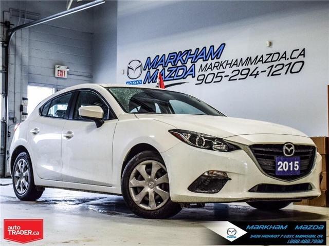 2015 Mazda Mazda3 GX (Stk: D5181003A) in Markham - Image 1 of 21