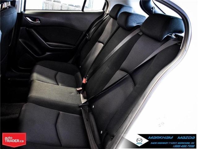 2015 Mazda Mazda3 GX (Stk: D5181003A) in Markham - Image 11 of 21