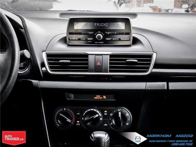 2015 Mazda Mazda3 GX (Stk: D5181003A) in Markham - Image 13 of 21