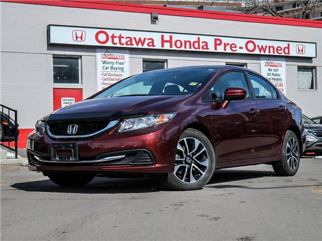 2015 Honda Civic EX (Stk: H7566-0) in Ottawa - Image 1 of 26