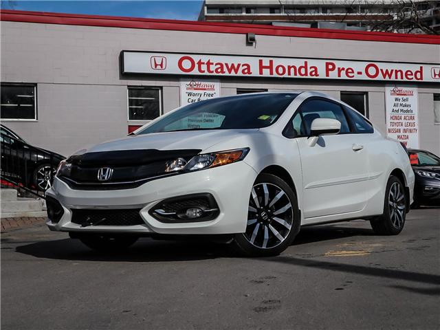 2015 Honda Civic EX-L Navi (Stk: H7552-0) in Ottawa - Image 1 of 26