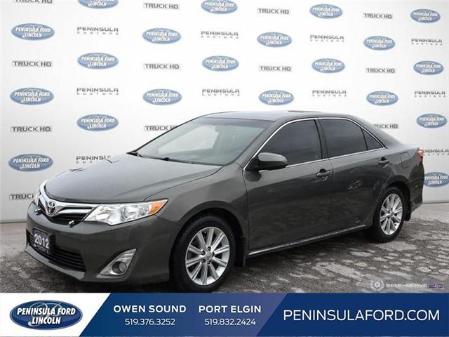 2012 Toyota Camry XLE V6 (Stk: 19LI17A) in Owen Sound - Image 1 of 25
