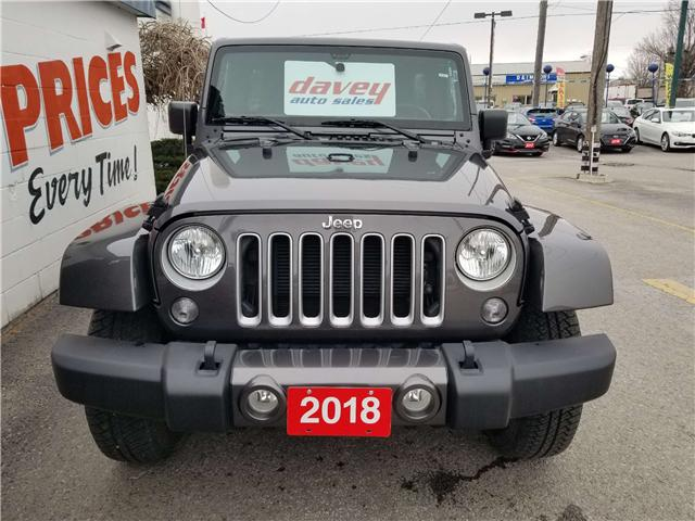 2018 Jeep Wrangler JK Unlimited Sahara (Stk: 19-240A) in Oshawa - Image 2 of 13