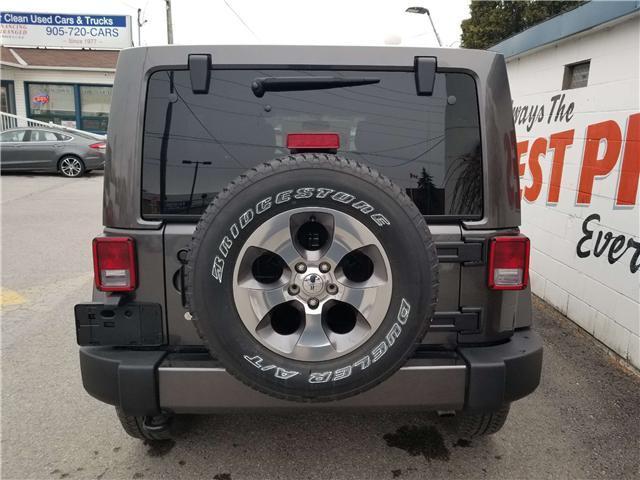 2018 Jeep Wrangler JK Unlimited Sahara (Stk: 19-240A) in Oshawa - Image 6 of 13