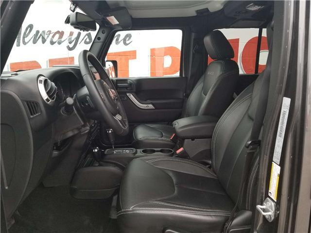 2018 Jeep Wrangler JK Unlimited Sahara (Stk: 19-240A) in Oshawa - Image 7 of 13