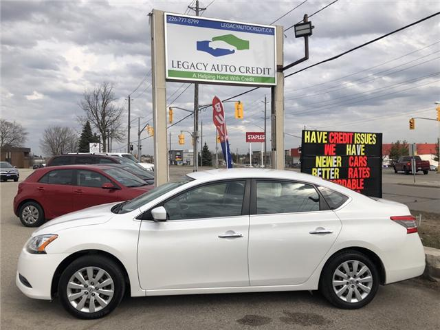 2015 Nissan Sentra 1.8 S (Stk: L9034A) in Waterloo - Image 1 of 17