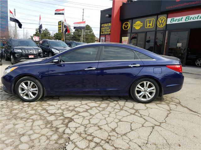 2013 Hyundai Sonata Limited (Stk: 524360) in Toronto - Image 2 of 15
