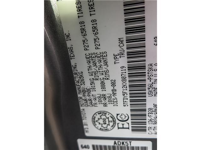 2019 Toyota Tundra SR5 Plus 5.7L V8 (Stk: 95072) in Waterloo - Image 18 of 19