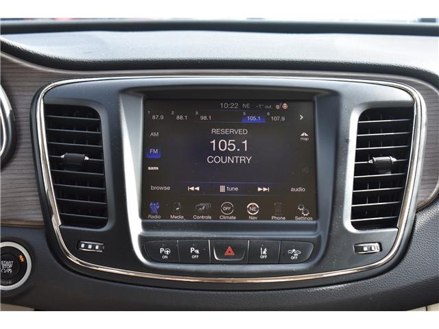 2015 Chrysler 200 C (Stk: p36359) in Saskatoon - Image 15 of 26