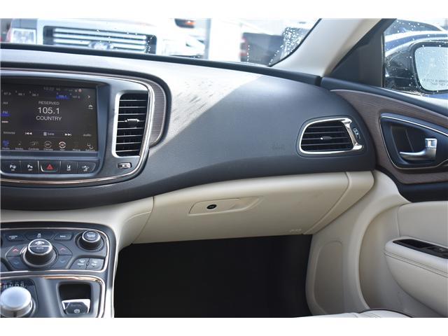 2015 Chrysler 200 C (Stk: p36359) in Saskatoon - Image 19 of 26