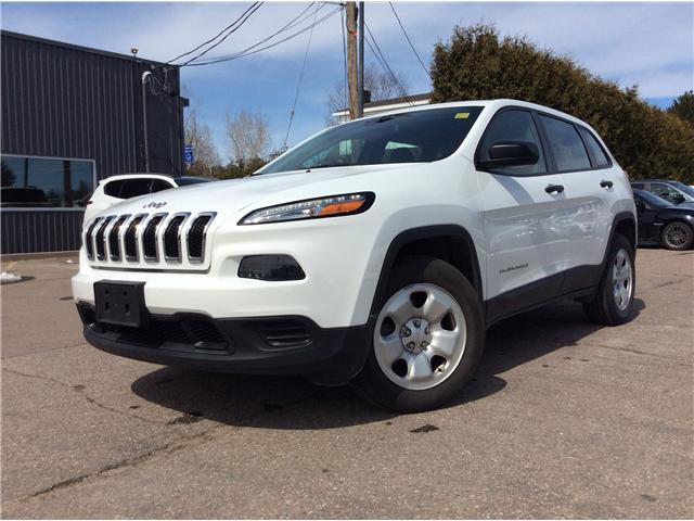 2016 Jeep Cherokee Sport (Stk: 19314A) in Pembroke - Image 1 of 13