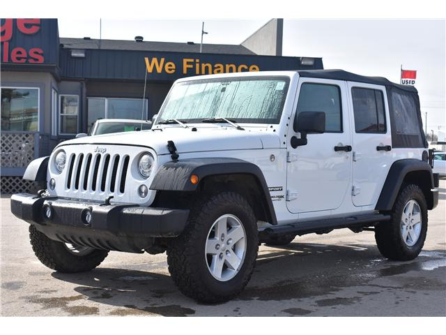 2018 Jeep Wrangler JK Unlimited Sport (Stk: p36372) in Saskatoon - Image 1 of 19