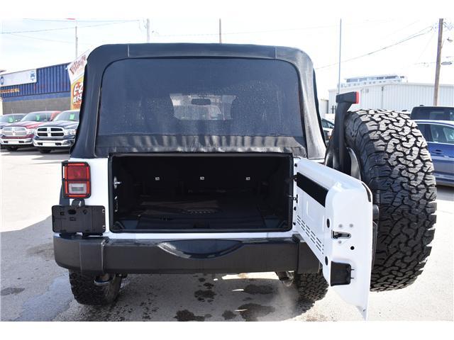 2018 Jeep Wrangler JK Unlimited Sport (Stk: p36372) in Saskatoon - Image 7 of 19
