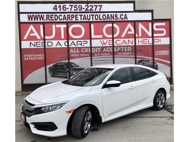 2017 Honda Civic LX (Stk: 028695) in Toronto - Image 1 of 13