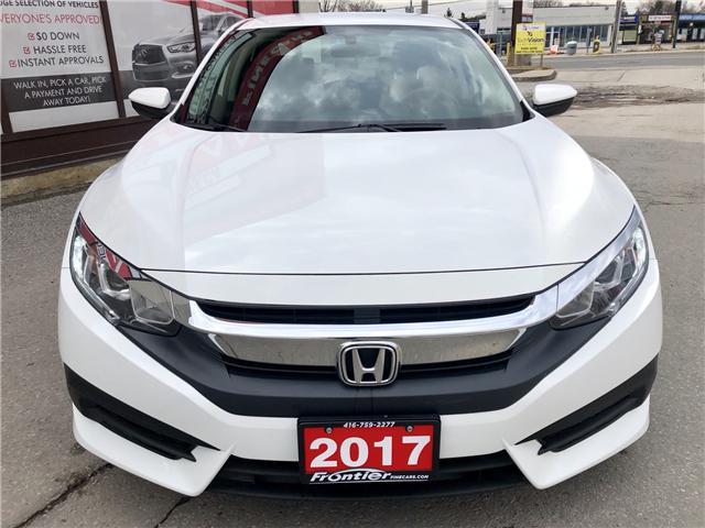 2017 Honda Civic LX (Stk: 028695) in Toronto - Image 3 of 13