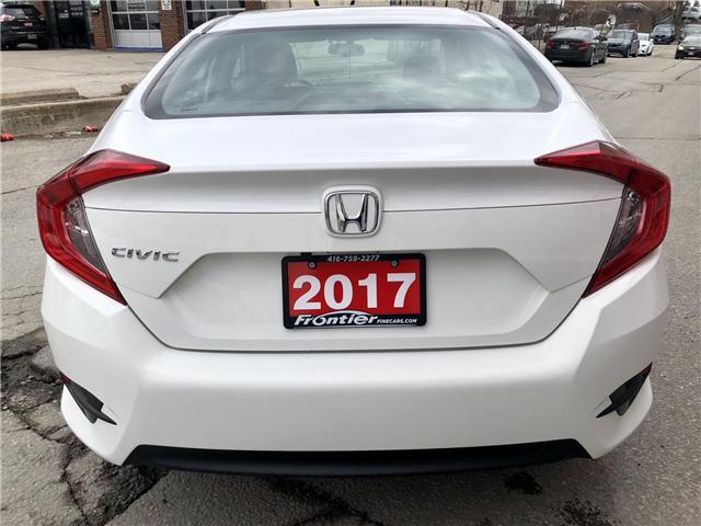 2017 Honda Civic LX (Stk: 028695) in Toronto - Image 6 of 13
