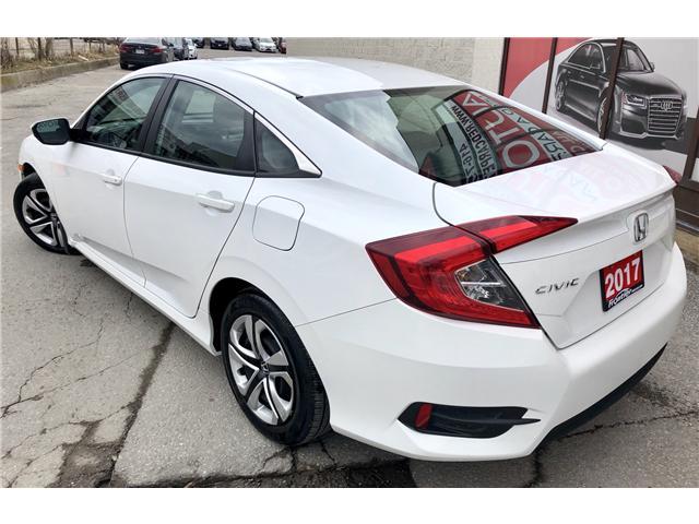 2017 Honda Civic LX (Stk: 028695) in Toronto - Image 7 of 13