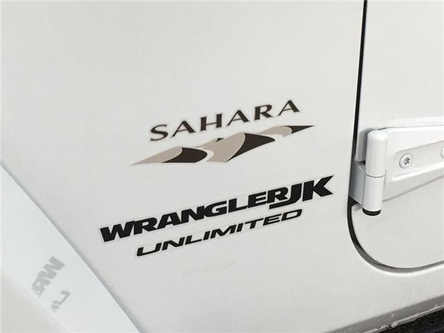 2018 Jeep Wrangler JK Unlimited Sahara (Stk: 34730J) in Belleville - Image 19 of 25