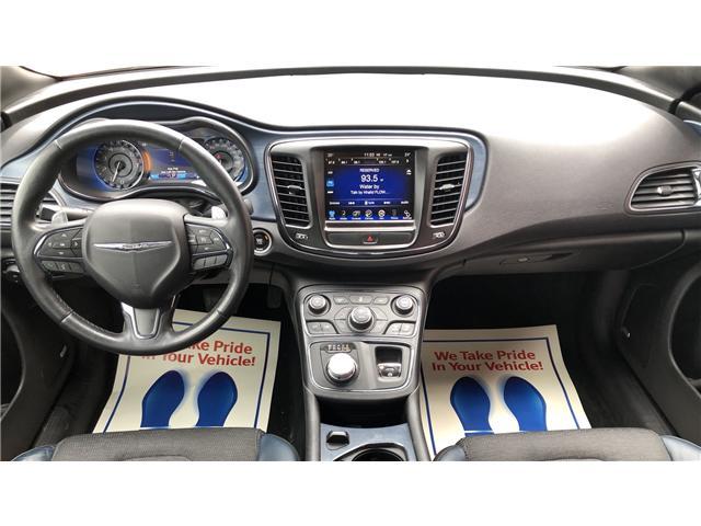 2015 Chrysler 200 S (Stk: 707245) in Toronto - Image 12 of 14