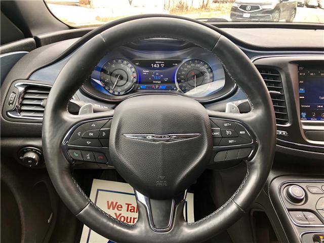 2015 Chrysler 200 S (Stk: 707245) in Toronto - Image 13 of 14