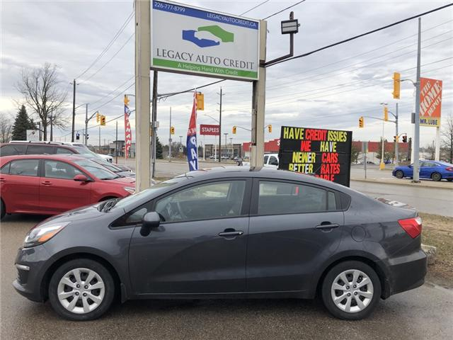 2017 Kia Rio LX+ (Stk: L9054) in Waterloo - Image 1 of 18