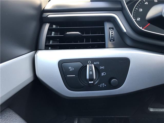 2018 Audi A4 2.0T Komfort (Stk: 10325) in Lower Sackville - Image 17 of 23
