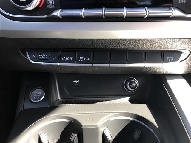 2018 Audi A4 2.0T Komfort (Stk: 10325) in Lower Sackville - Image 23 of 23