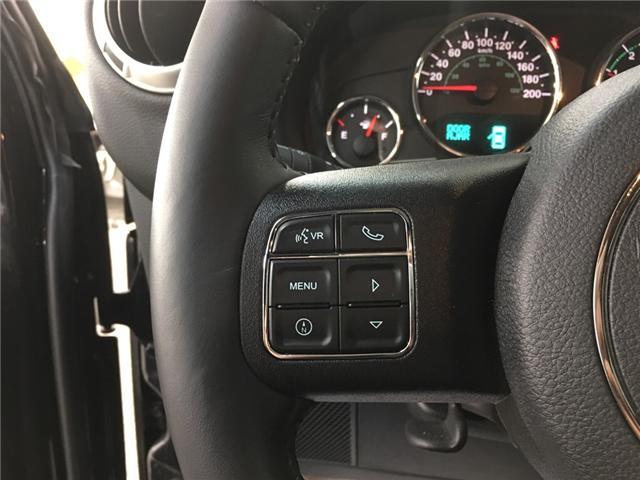 2018 Jeep Wrangler JK Unlimited Sahara (Stk: 34763J) in Belleville - Image 13 of 25