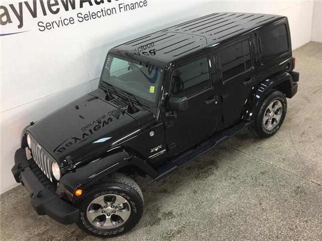 2018 Jeep Wrangler JK Unlimited Sahara (Stk: 34763J) in Belleville - Image 2 of 25