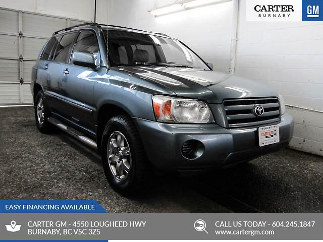 2005 Toyota Highlander V6 (Stk: C8-68632) in Burnaby - Image 1 of 22
