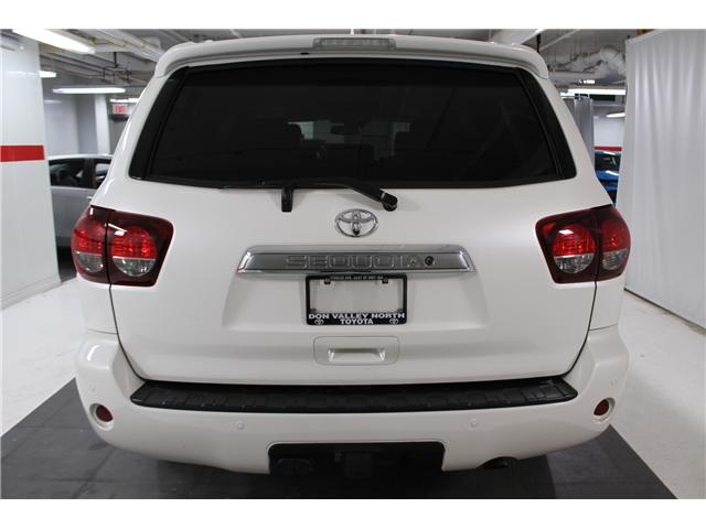 2018 Toyota Sequoia Platinum 5.7L V8 (Stk: 297853S) in Markham - Image 25 of 30