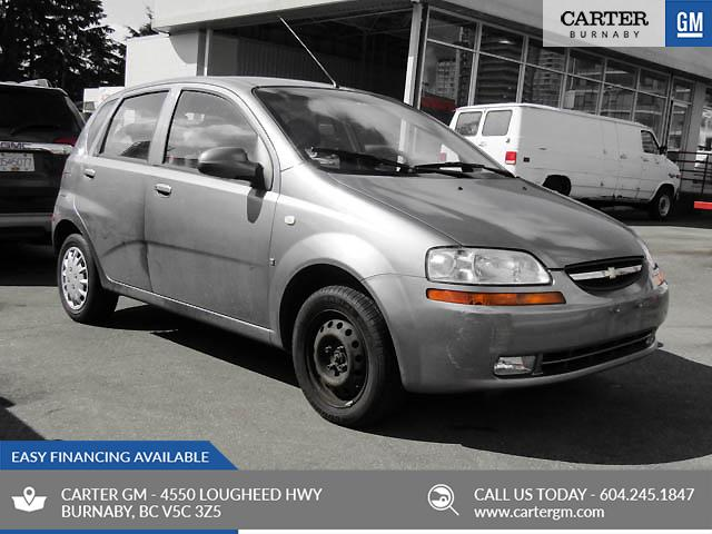2008 Chevrolet Aveo 5 LS (Stk: P9-57252) in Burnaby - Image 1 of 1