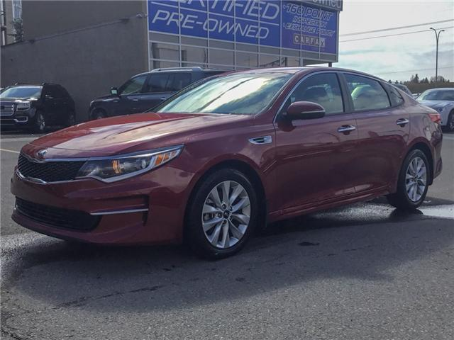 2018 Kia Optima LX+ (Stk: K7680) in Calgary - Image 1 of 24