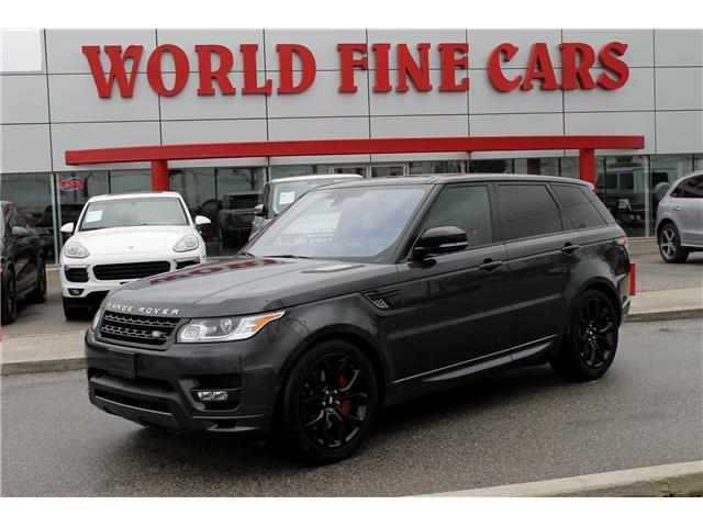 2016 Land Rover Range Rover Sport V8 Supercharged (Stk: 16752) in Toronto - Image 1 of 24