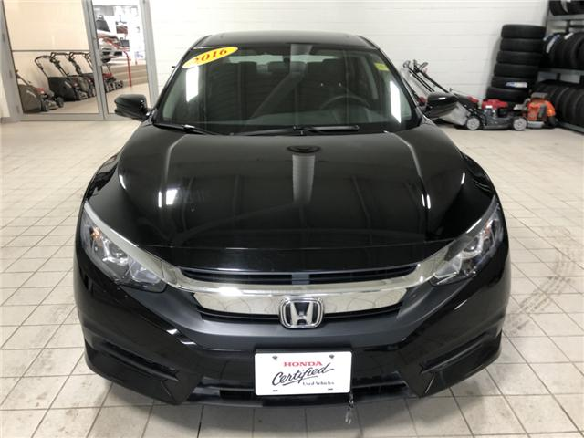 2016 Honda Civic EX (Stk: H1628) in Steinbach - Image 2 of 9