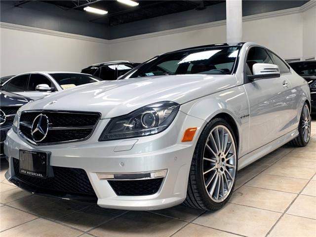 2013 Mercedes-Benz C63 AMG Coupe (Stk: AP1831) in Vaughan - Image 1 of 25