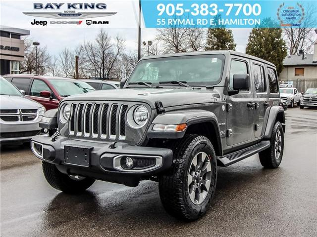 2019 Jeep Wrangler Unlimited Sahara (Stk: 197587) in Hamilton - Image 1 of 24