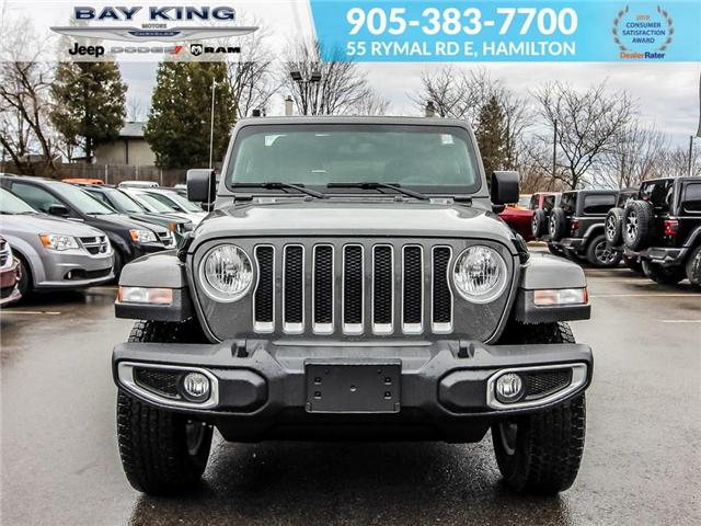 2019 Jeep Wrangler Unlimited Sahara (Stk: 197587) in Hamilton - Image 2 of 24