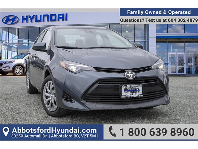 2017 Toyota Corolla LE (Stk: AH8819) in Abbotsford - Image 1 of 27