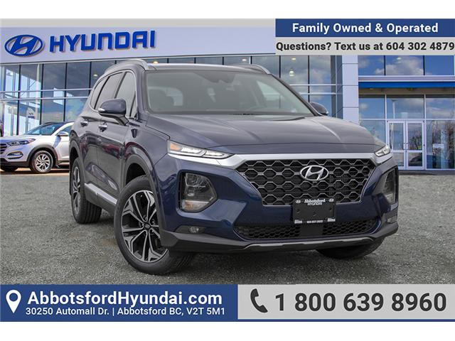 2019 Hyundai Santa Fe Ultimate 2.0 (Stk: KF099842) in Abbotsford - Image 1 of 30