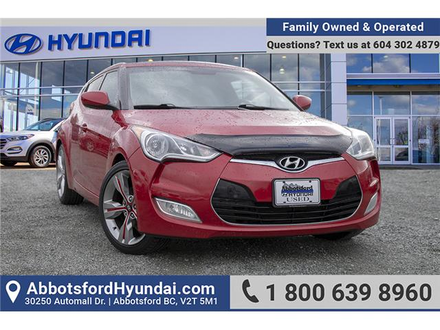 2012 Hyundai Veloster Tech (Stk: KK288772A) in Abbotsford - Image 1 of 27