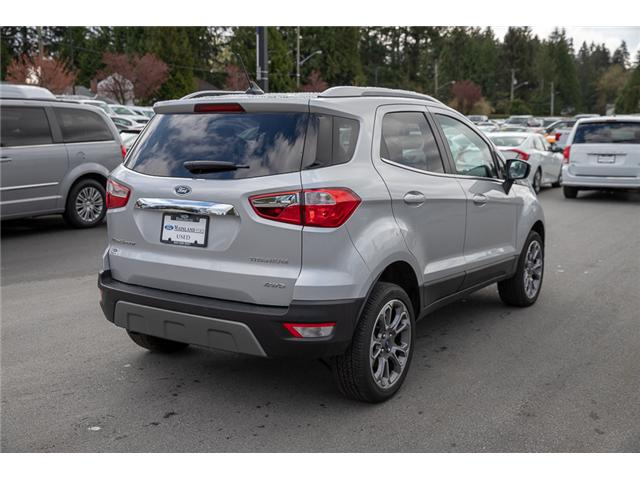 2018 Ford EcoSport Titanium (Stk: P8871) in Vancouver - Image 7 of 29