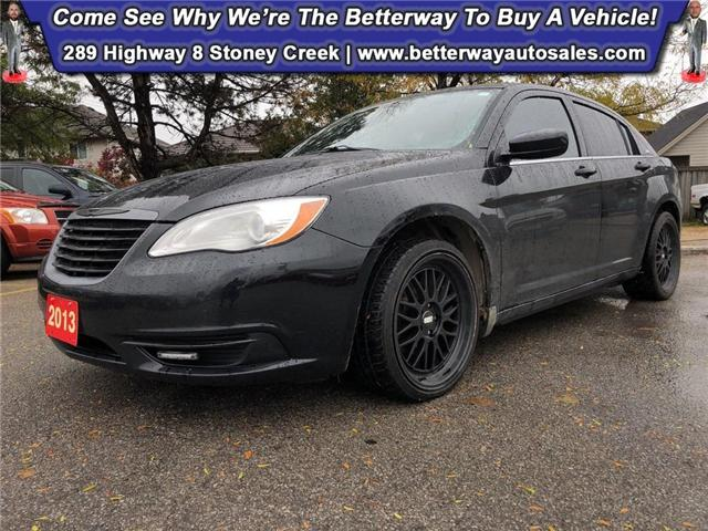 2013 Chrysler 200 LX| B-Tooth| Keyless Ent| PWR Options (Stk: 4964A) in Stoney Creek - Image 1 of 26