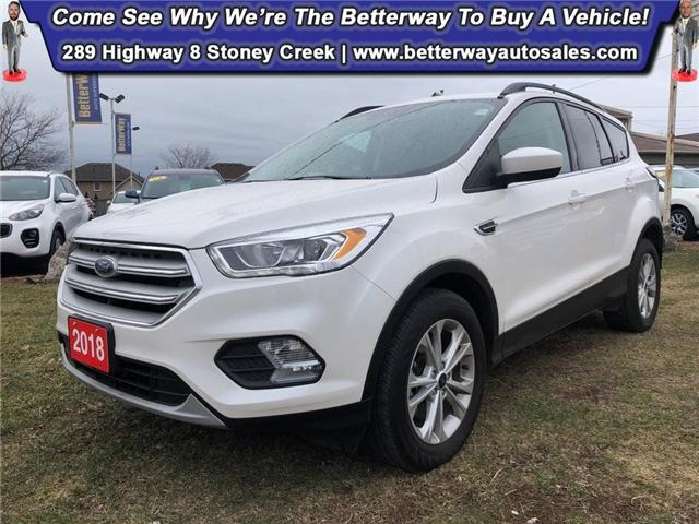 2018 Ford Escape SEL| Navi| 4X4| Backup Cam| Pano Sunroof (Stk: 5332) in Stoney Creek - Image 1 of 30