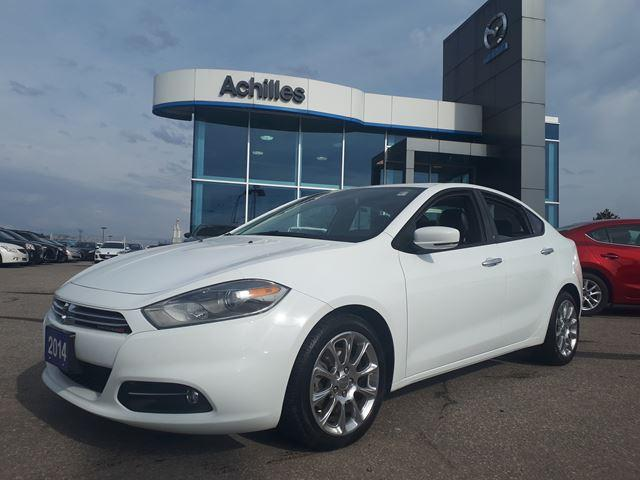 2014 Dodge Dart Limited (Stk: B8011A) in Milton - Image 1 of 12